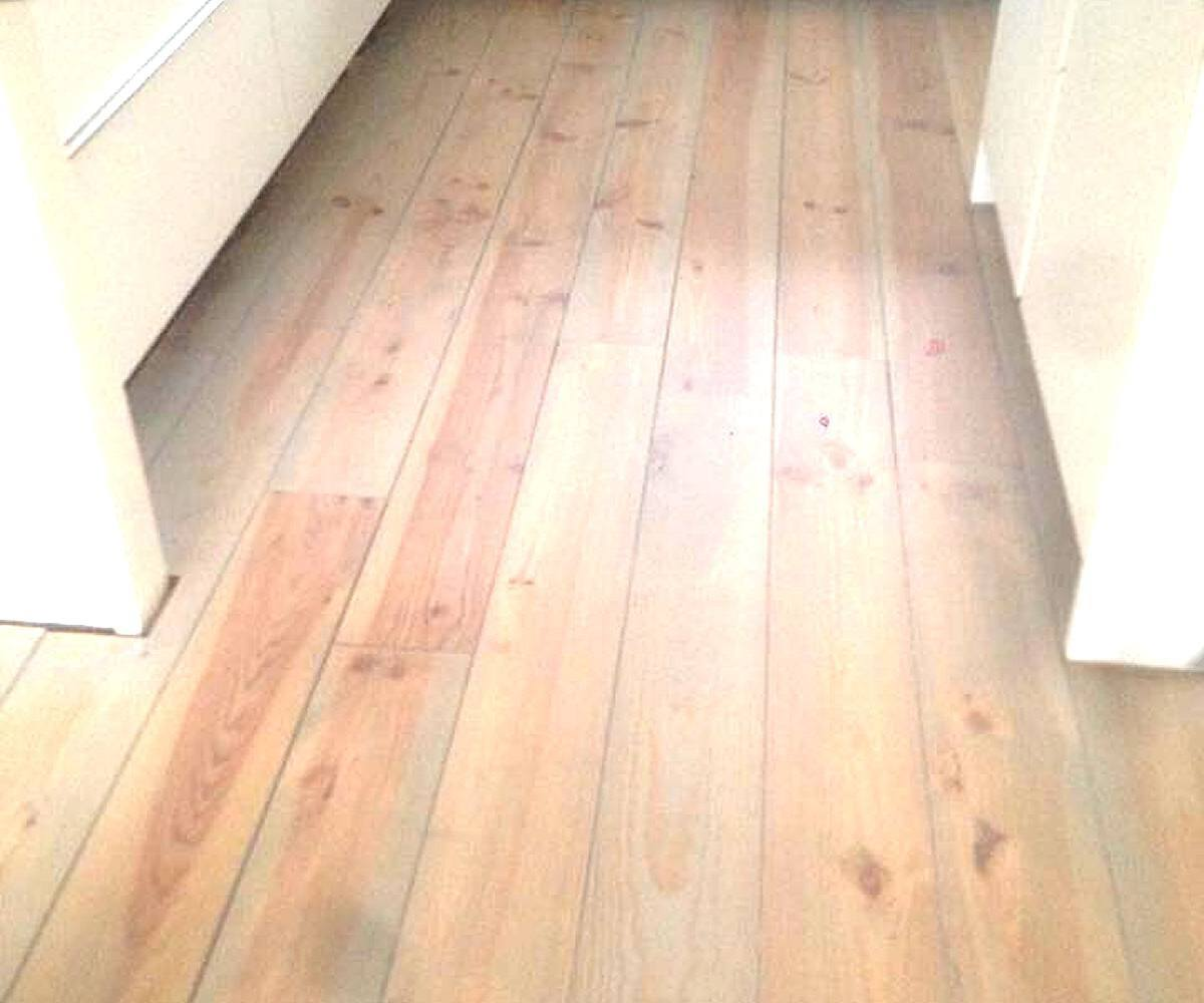Renovatie houten vloer