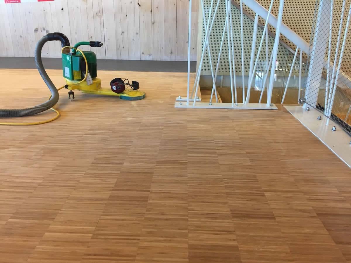 Onderhoud Bamboe Vloer : Vloerrenovatie bamboe vloer rijkswaterstaat assen